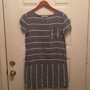 Love & Grey Blue striped dress